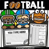 Football Craft Activity (Football Craftivity)