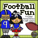 Football Fun: Literacy and Math Centers