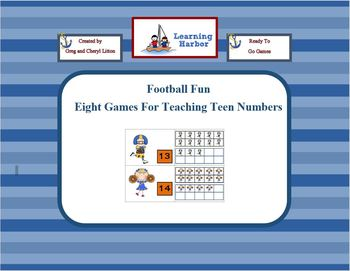 Football Fun Teaching Teen Numbers