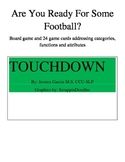 Football Functions, Attributes, and Categories