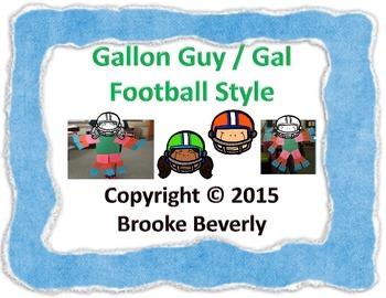 Football Gallon Guy / Gal