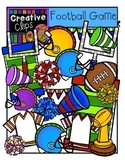 Football Game {Creative Clips Digital Clipart}