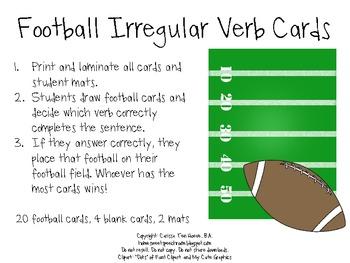Football Game Day Grammar