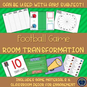 Football Game Room Transformation