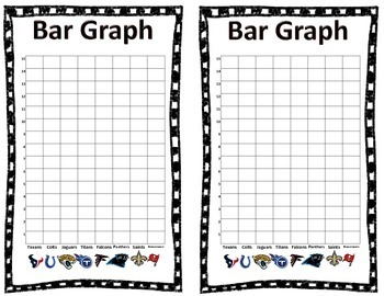 Football Graphing Booklets