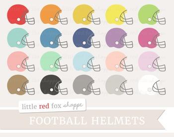 Football Helmet Clipart; Sports, Equipment