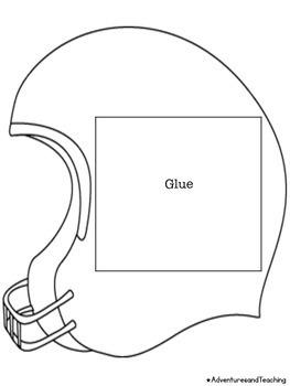 Football & Helmet Flipbook Craftivity