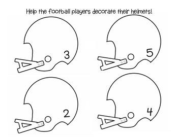 Football Helmet Math