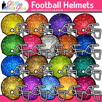 Football Helmet Clip Art {Sports Equipment for Physical Education Teachers}