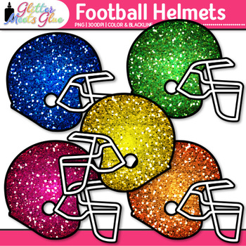 Football Helmet Clip Art | Sports Equipment for Physical Education Teachers