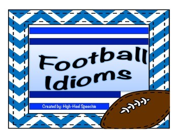 Football Idioms