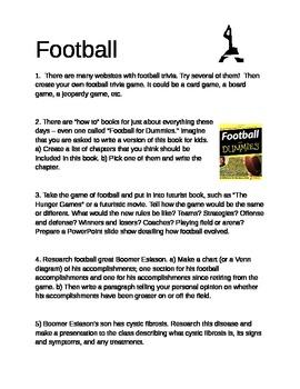 Football - Individualized Unit