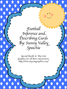 Football Inferring and Describing Cards