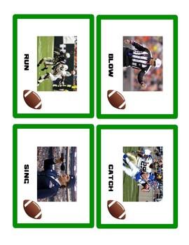 Football Irregular Verbs