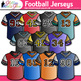 Football T-Shirt Clip Art {Physical Education Sports Jerseys for School Spirit}