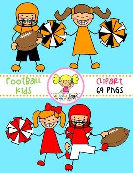 Football Kids Clipart