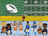 Football Kids Clipart {for personal and commercial use}