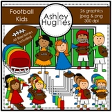 Football Kids {Graphics for Commercial Use} [Ashley Hughes Design]