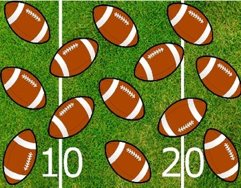 Football Koosh Ball Game SMARTBoard
