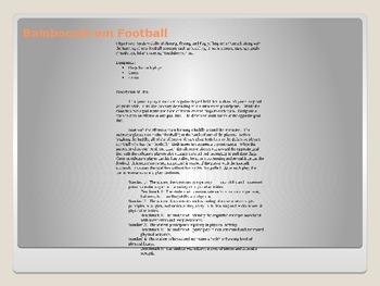Football Lesson Plans