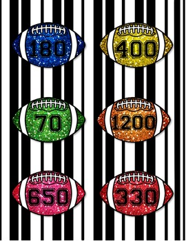 Football Match-Up (A Game to Practice Rounding Numbers)