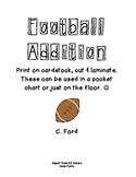 Football Math - Addition to 10