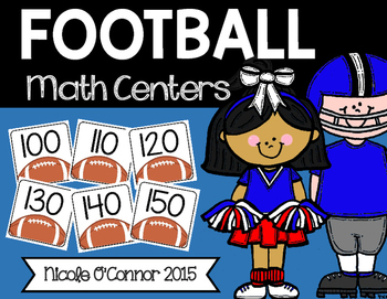 Football Math Centers!