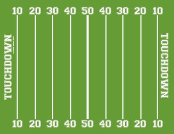 Football Math Facts: A Game for Practicing Math Facts