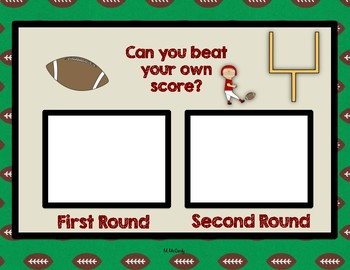 Football Math Games and Practice