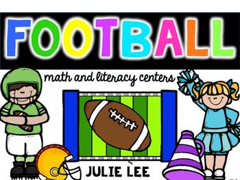 Football Math & Literacy Centers