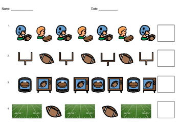 Football Math Patterns