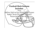 Football Math Review Stations