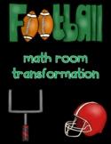 Football Math Room Transformation
