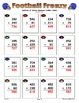 Football Frenzy Game Cards (Add & Subtract Whole Numbers)
