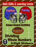 Football Math Skills & Learning Center (Division with 2-Di