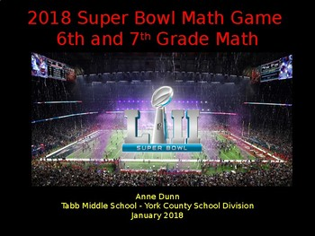 Football Math - Superbowl 2017 - Atlanta Falcons vs New England Patriots