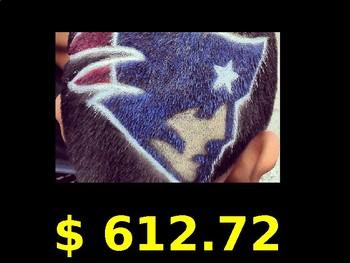 Football Math - Superbowl 2018 - Philadelphia Eagles vs New England Patriots