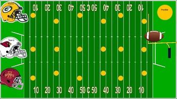 Football Math-ness (Editable)