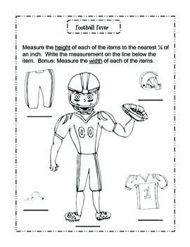 Football Measurement and More