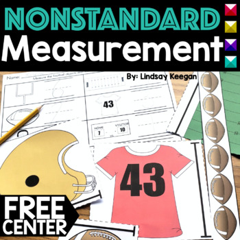 Football Themed Measuring Activity