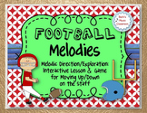 Football Melodies - Melodic Direction Up/Down: Interactive