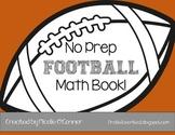 Football Mini Math Book! (No Prep)