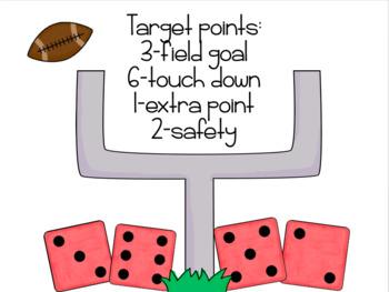 Football Mixed Operations Math Game
