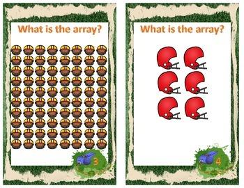 Football Multiplication Array