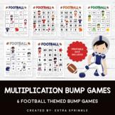 Football Multiplication Bump Games