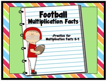 Football Multiplication Facts