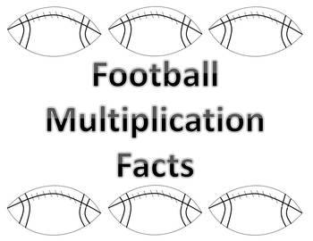 Football Multiplication Flash Cards