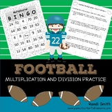 Football Multiplication and Division Games and Word Problems