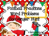 Football Multiplying and Dividing Fractions Word Problems