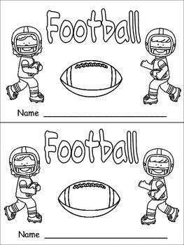 Football- Nonfiction Leveled Reader- Level C Kindergarten